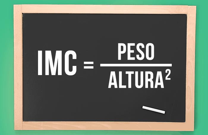 Fórmula IMC (índice de massa corporal)