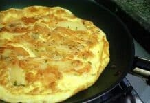 Omelete Hiper Proteico