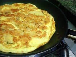 Omelete Hiper Proteico