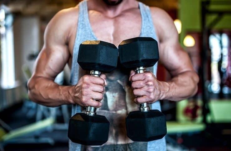Treino de Bíceps com o personal Fernando Sardinha