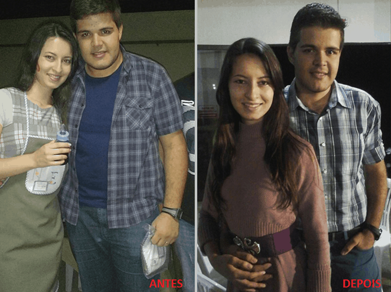 Antes e Depois Daniel Ramalho