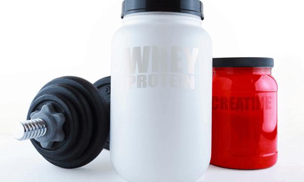 Creatina proteína carboidrato