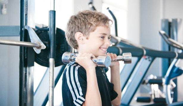 Crianças poder fazer Musculação