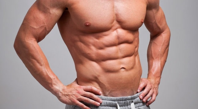 Treino Abdômen músculos