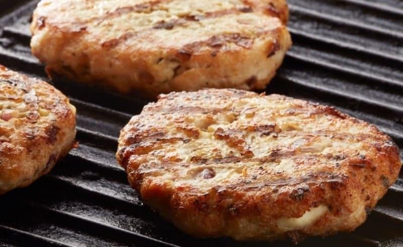 Hambúrguer FIT de Frango