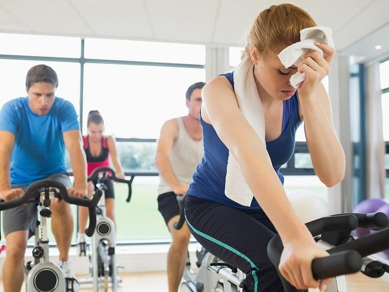 Treinar ou ir par academia com Gripe