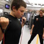 Crianças e o Treino de Força  Musculação