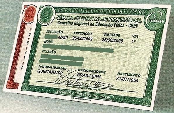 CREF - Conselho Regional de Educação Física