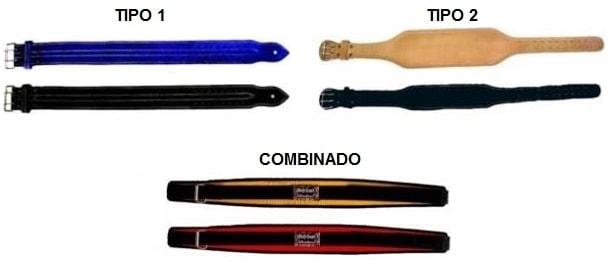 Tipos de Cintos ou Cinturão para Academia