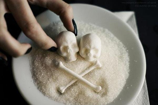 açúcar doce veneno