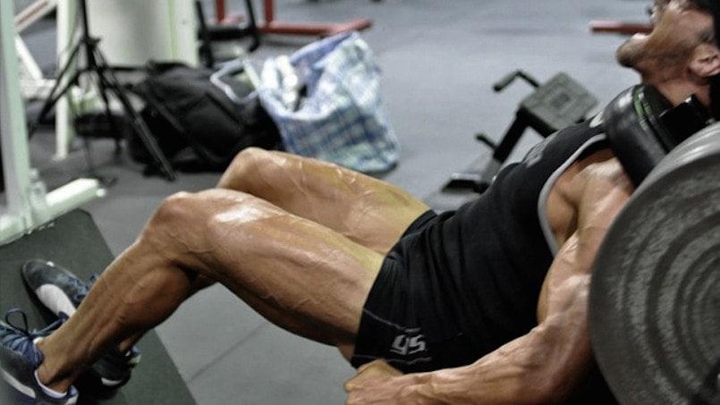 treino pernas homen