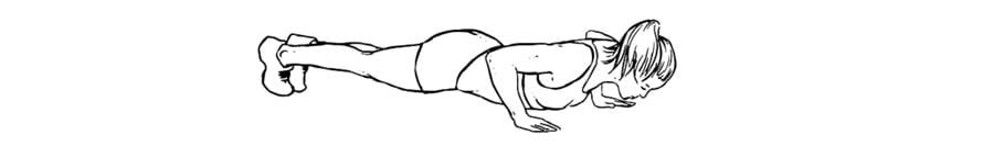 Flexao Fechada Triceps