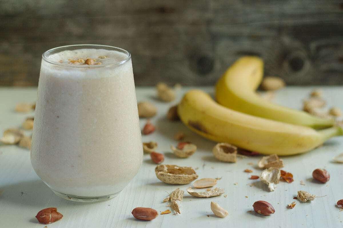 Vitamina Proteica de Banana
