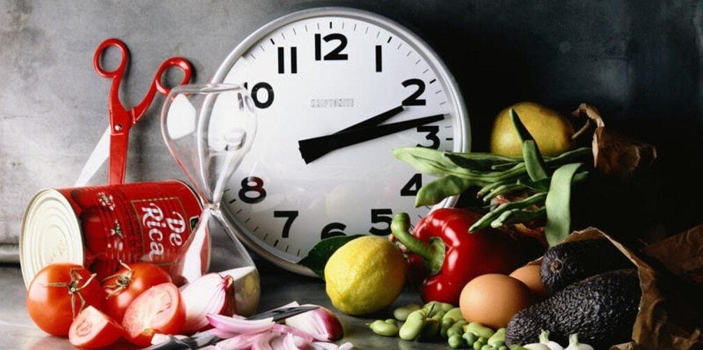 horario das refeicoes