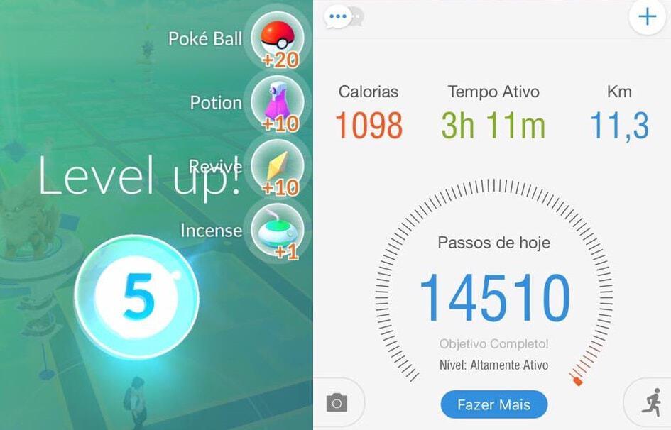 Pokémon Go Atividade Física