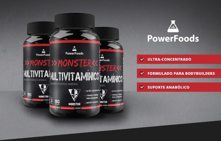 Monster Multivitamínico Powerfoods