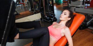 Corpo Feminino utilizando Musculação + Aeróbio