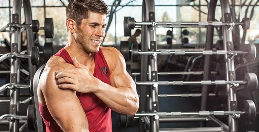 lesão no ombro e articulação dos Ombros no treino de Musculação