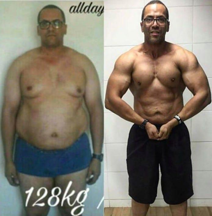 Resultado Antes e Depois do Black Viper