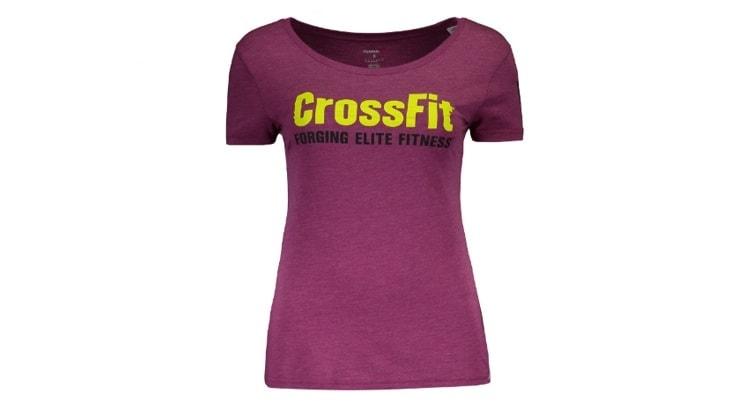 Camiseta Reebok Crossfit Forging Elite Fitness Feminina