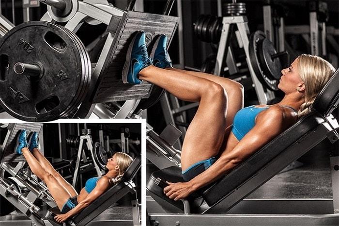 Posição dos pés no Leg Press 45