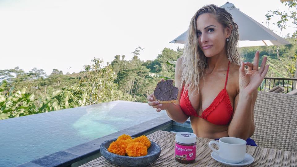 Rebecca Burger blogueira fitness