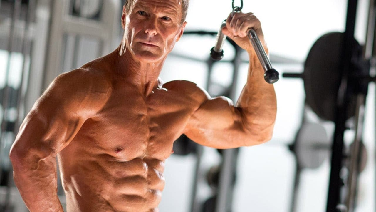 Gaining muscle mass after age 50