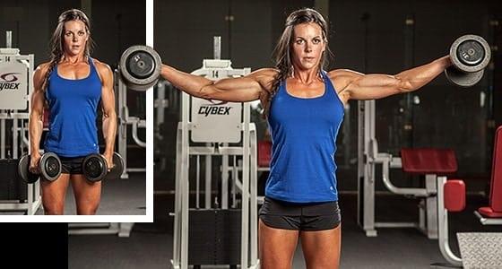 melhores exercicíso para treino de ombros