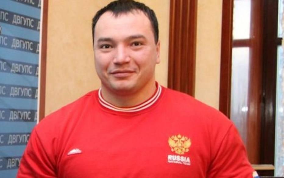 Andrey Drachev, campeão mundial de levantamento de peso
