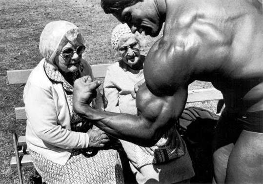 Técnicas do Arnold Schwarzenegger