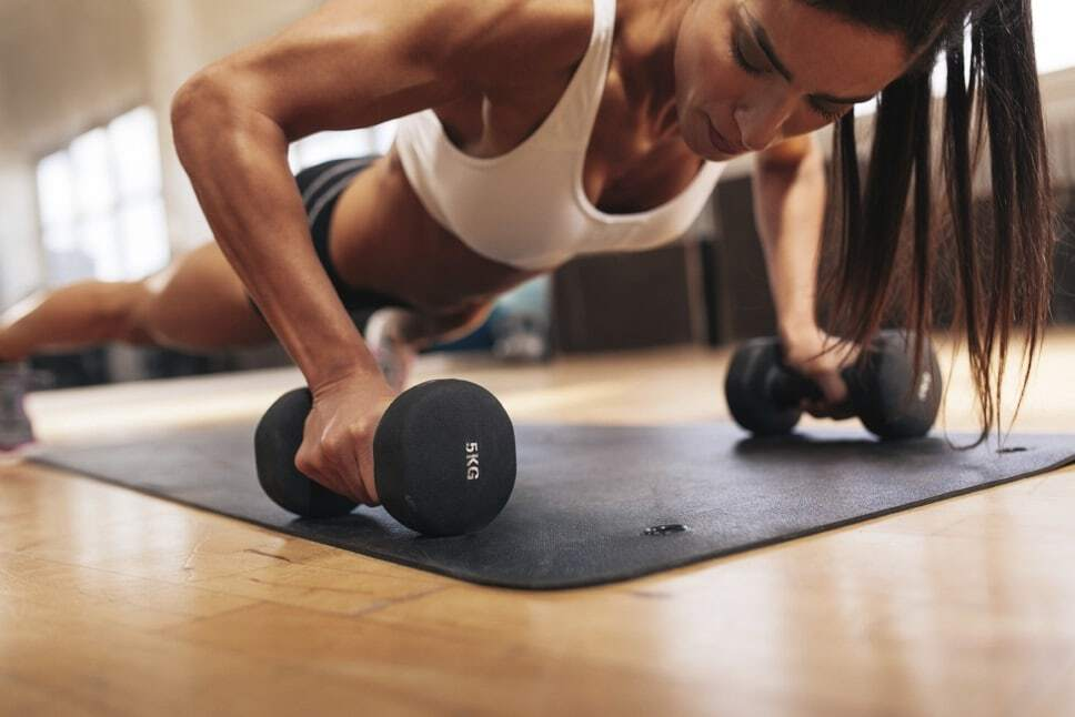 intensidade dos treinamentos para mulheres
