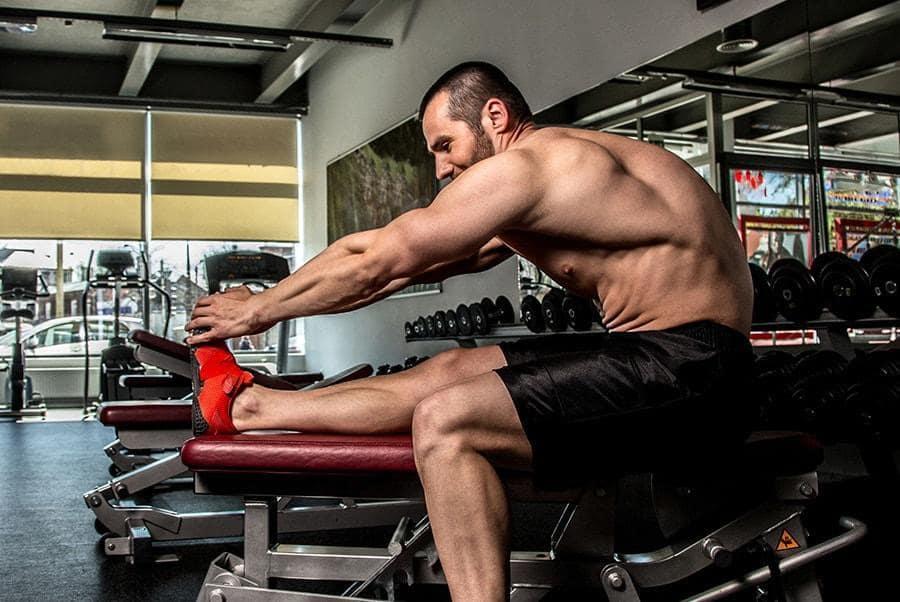 o alongamento muscular na musculação