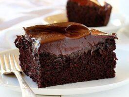 Bolo de Chocolate + Cobertura de Chocolate