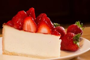 Receita de Cheesecake Light de Morango