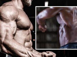 Treino de Costas e Bíceps