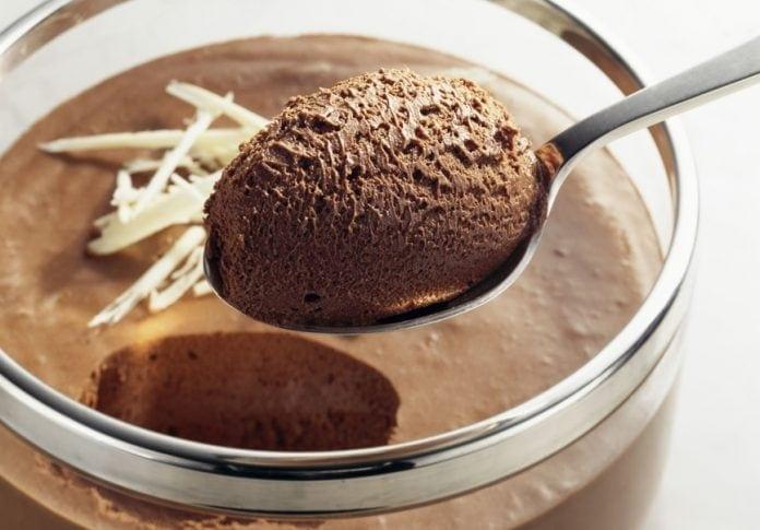 Receita de Mousse de Chocolate Low Carb