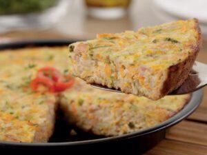 Receita de Omelete de Forno Low Carb