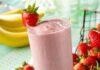 Receita para fazer Iogurte Caseiro ( Iogurte de Kefir sabor Morango )
