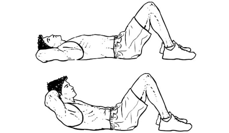 Treino para fortalecer o Core - Abdominais Reto