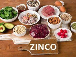 O que é o Zinco para que serve função carência excesso alimentos suplementos