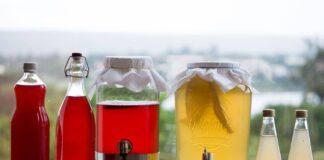 Receitas de como fazer refrigerante de Kefir de água