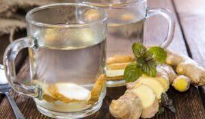 Benefícios de consumir água com gengibre