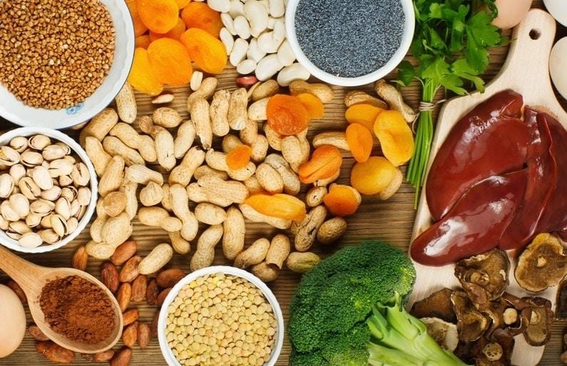 Lista de Alimentos Ricos em Ferro para complementar sua Dieta