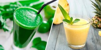 Receita de suco detox seca barriga