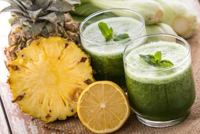 Suco Detox Abacaxi Receitas de Suco Detox para Perder Peso