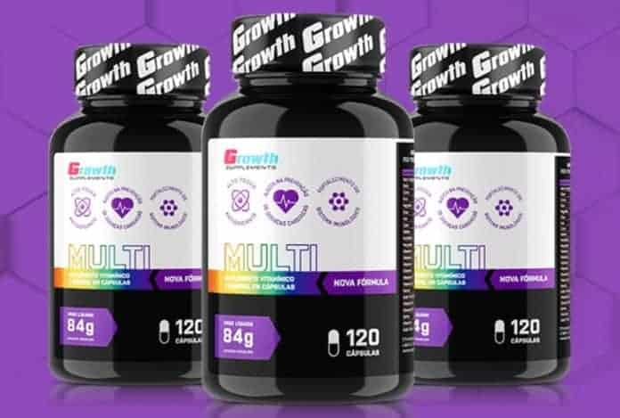 Multivitamínico Growth Supplements