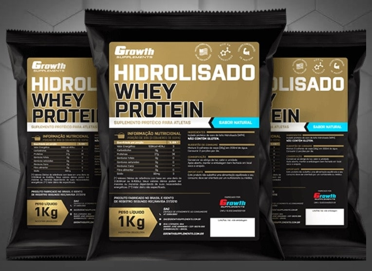 f7cd58b37 Whey Protein Hidrolisado Growth Supplements - REVIEW