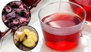 Como fazer Chá de Hibisco com Gengibre para Emagrecer?