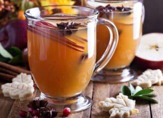 Como fazer de Chá de Maçã com Canela e Gengibre para Emagrecer