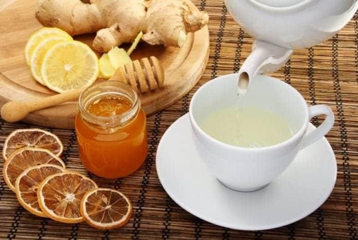 Receita de Chá de Gengibre e Limão para Emagrecer